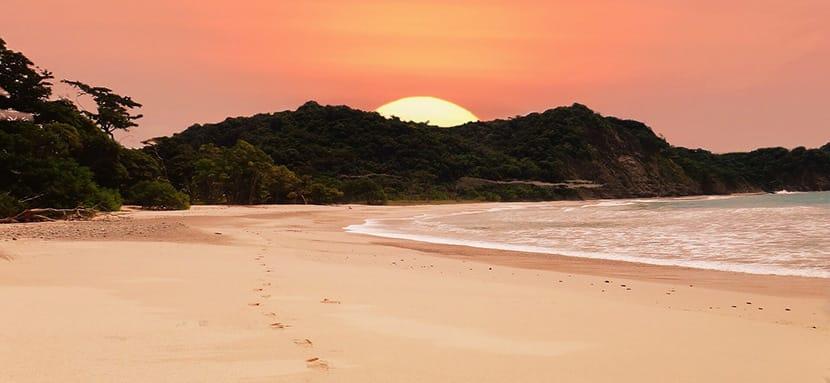 Playa Conchal en Guanacaste