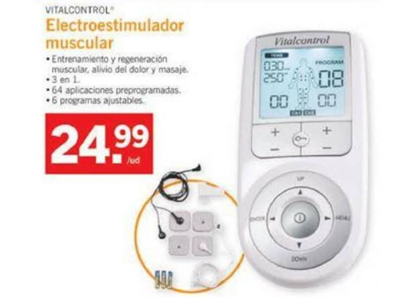 electroestimulador muscular Lidl