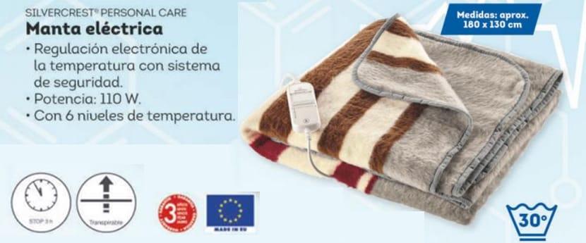 Manta Electrica Zaragoza.Manta Electrica Lidl Precio Caracteristicas Y Opiniones