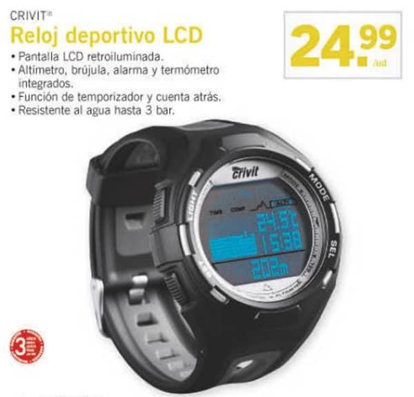 reloj deportivo Lidl