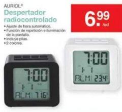 reloj despertador radiocontrolado lidl