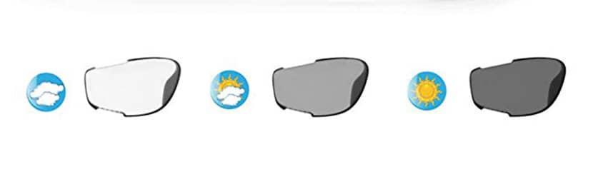 cristales de las mejores gafas fotocromáticas